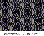 abstract geometric pattern. a... | Shutterstock .eps vector #2015744918