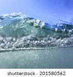 Sea Wave In A Detail