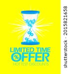 limited time offer   vector...   Shutterstock .eps vector #2015821658