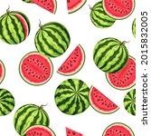 vector seamless pattern with... | Shutterstock .eps vector #2015832005