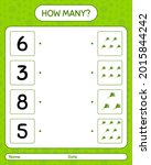 how many counting game with... | Shutterstock .eps vector #2015844242