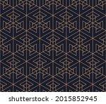 vector seamless geometric... | Shutterstock .eps vector #2015852945