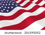 flag of the usa. | Shutterstock . vector #201595052