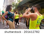 scenes from the nyc gay pride... | Shutterstock . vector #201612782