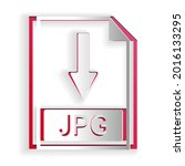 paper cut file document icon....