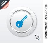 key sign icon. unlock tool...