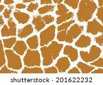 Seamless Spotted Giraffe Skin...
