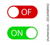 on and off switch buttons ...