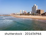Beautiful Beachfront Of Durban...