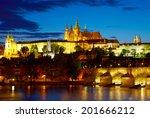 Prague Castle After Sunset....