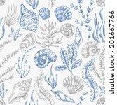 Sea Elements Pattern