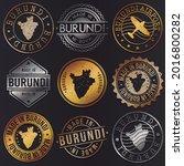 burundi business metal stamps.... | Shutterstock .eps vector #2016800282