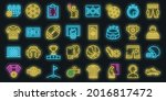 referee icons set. outline set...   Shutterstock .eps vector #2016817472