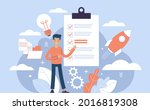 project initiation  project...   Shutterstock .eps vector #2016819308