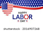 labor day in the united states...   Shutterstock .eps vector #2016907268