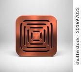 bronze abstract technology app...
