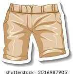 a sticker template with a... | Shutterstock .eps vector #2016987905