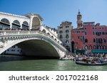 Venice The Rialto Bridge  ...