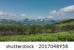 Kamchatka. Summer Landscape. A...