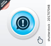 exclamation mark sign icon....