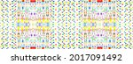 tie dye hand seamless nature....   Shutterstock . vector #2017091492