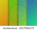 Indian Ornamental Pattern Set....