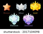 game rank reward star  gold ...