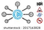 mesh euro relations web 2d... | Shutterstock .eps vector #2017163828