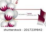 national qatar day  december 18 ...   Shutterstock .eps vector #2017239842