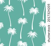 Seamless Pattern Palm Trees...