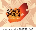 south africa heritage day...   Shutterstock .eps vector #2017521668