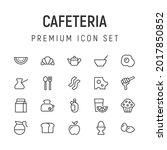 premium pack of cafeteria line...