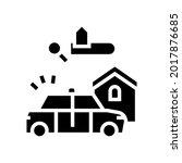 crime in area glyph icon vector.... | Shutterstock .eps vector #2017876685