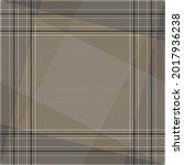 scarf design in beige and brown ... | Shutterstock .eps vector #2017936238