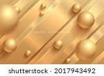 abstract golden lines and...   Shutterstock .eps vector #2017943492