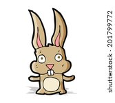 cartoon rabbit | Shutterstock .eps vector #201799772