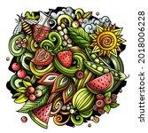 Summer Nature Vector Doodles...
