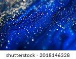 blue liquid marble background...   Shutterstock . vector #2018146328