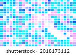abstract mosaic with color... | Shutterstock .eps vector #2018173112