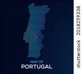 modern rectangular map of... | Shutterstock .eps vector #2018259338