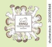 background with eringi  eringi...   Shutterstock .eps vector #2018305868