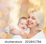 family  child and parenthood... | Shutterstock . vector #201841786