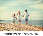 summer holidays  children and... | Shutterstock . vector #201842302