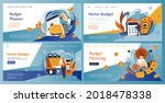 family budget planner  home...   Shutterstock .eps vector #2018478338