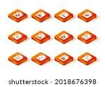 set html file document  mp3 ... | Shutterstock .eps vector #2018676398
