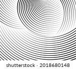 line art optical art.... | Shutterstock .eps vector #2018680148