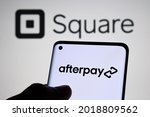Afterpay Company Logo Seen On...