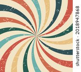 vintage colorful spiral radial...   Shutterstock .eps vector #2018947868
