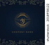 Elegant Luxury Letter Mj Logo....