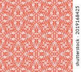 flower geometric pattern.... | Shutterstock .eps vector #2019168425